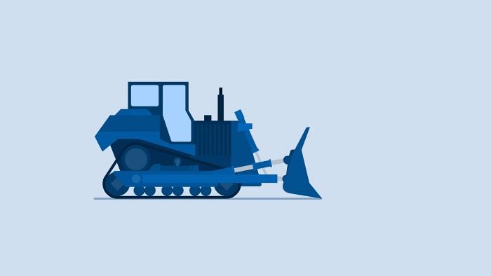 Early Bulldozer Concept