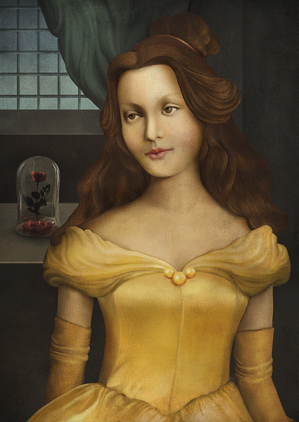 image via http://designtaxi.com/news/384850/Disney-Princesses-Reimagined-As-Lovely-Works-Of-Art-From-The-Renaissance/