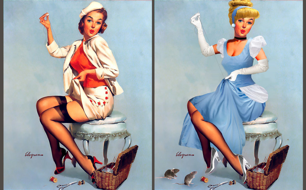 imAGE VIA http://viralscape.com/disney-princess-pin-up-girls/