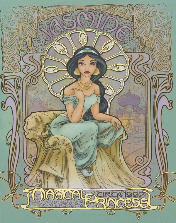 image via http://www.buzzfeed.com/mathieus/art-nouveau-disneys-princess-8q4