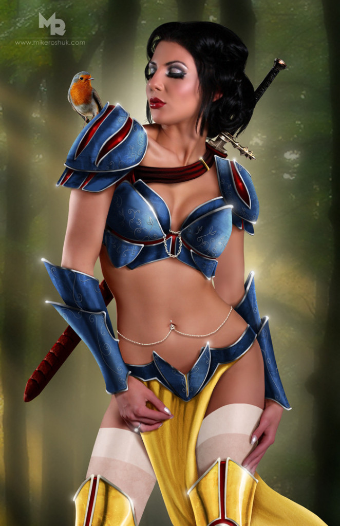 image via https://www.slrlounge.com/disney-princesses-reimagined-into-sexy-space-warriors-what-is-this-photoshop-trickery/